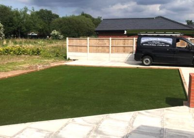 New Artificial Grass Lawn