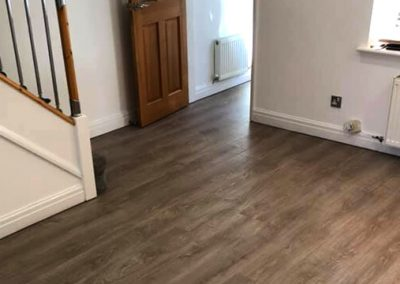 (LVT) Lounge Flooring Fitted