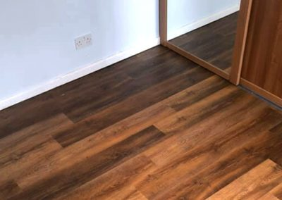 Bedroom LVT Installation