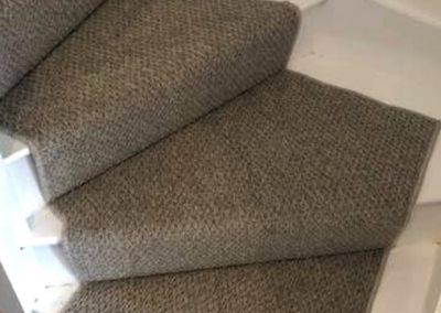 Contemporary Textured Stair Runner